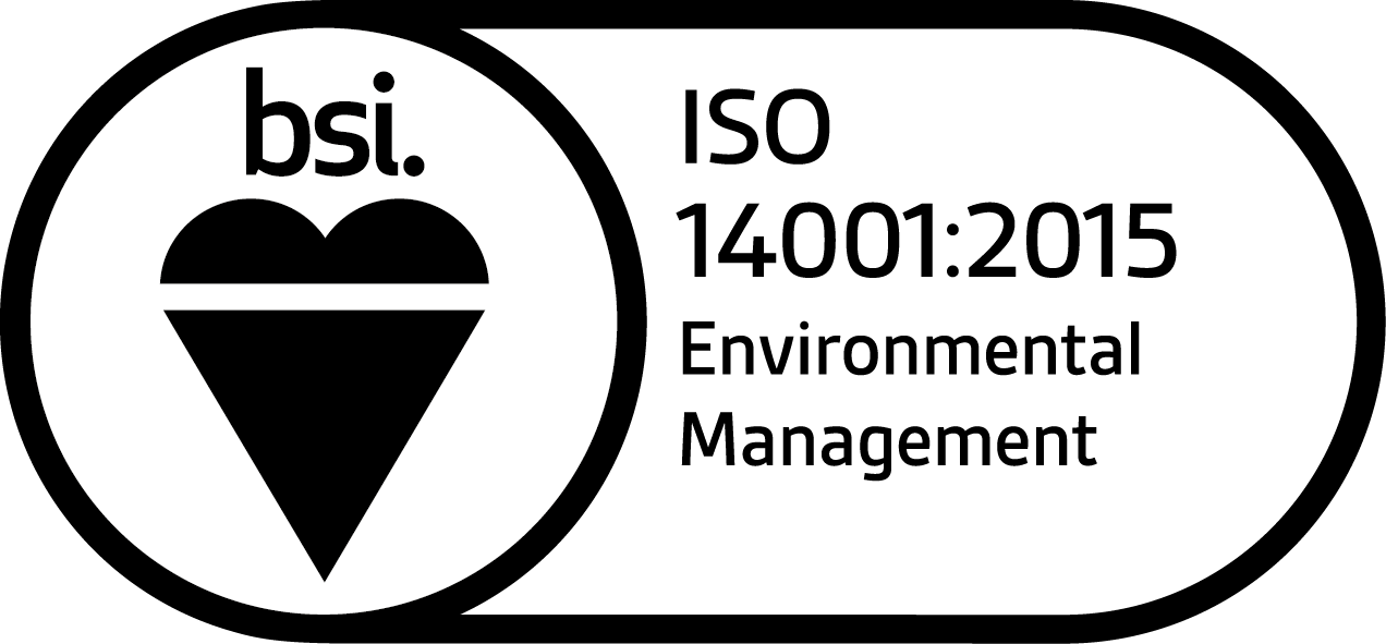 ISO 14001:2015 Environmental Management logo