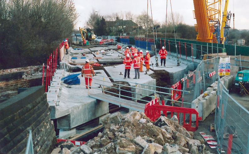 precast concrete bridge works